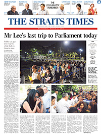 spotl1ght communicatons - international public relations pr agency - the straits times