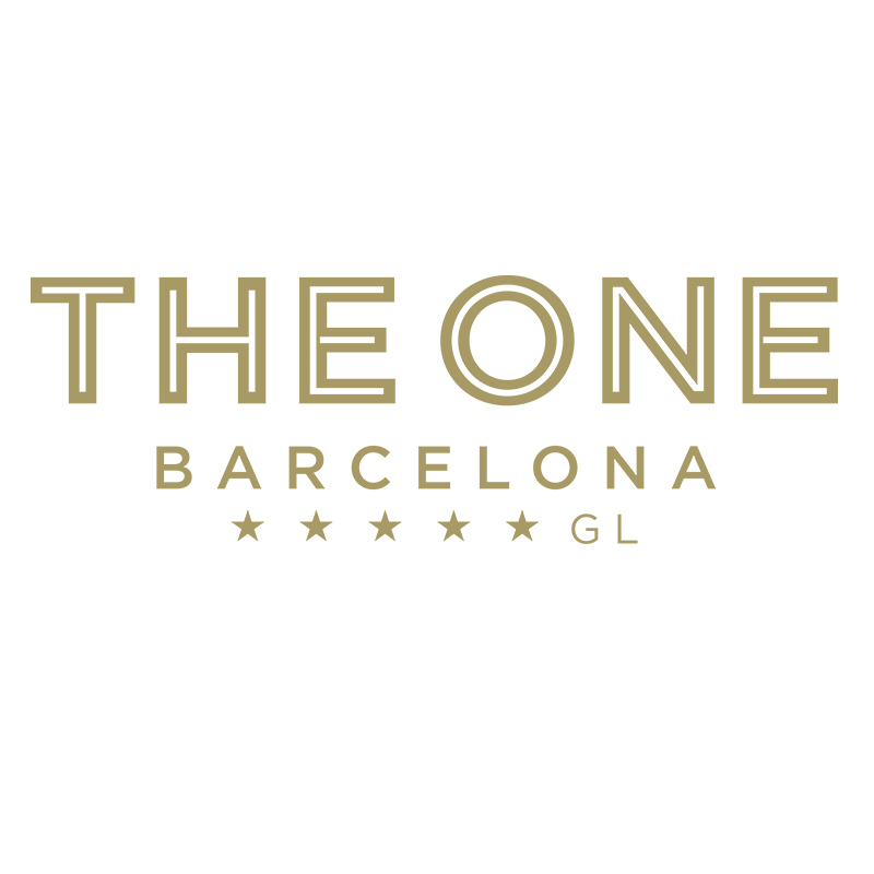 the one barcelona logo spotl1ght communications tourism luxury hotels